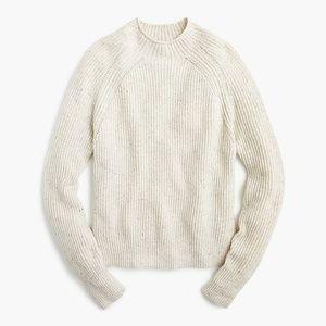 J.Crew Mockneck Sweater Donegal Wool XXS
